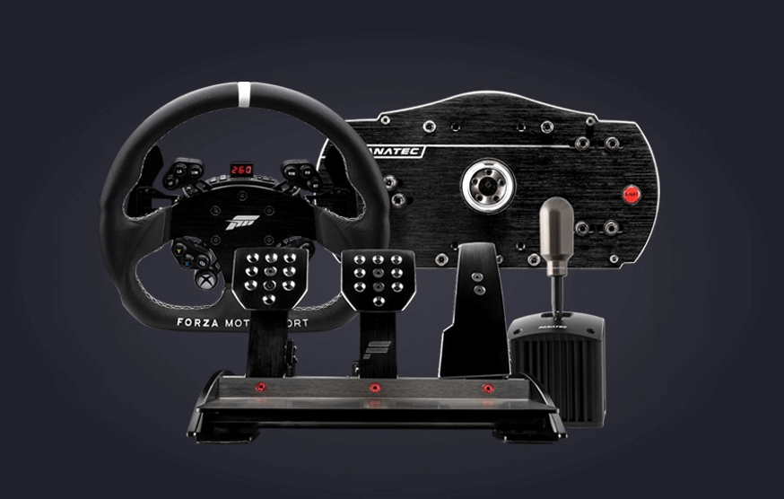 Forza Motorsport bundle from Fanatec