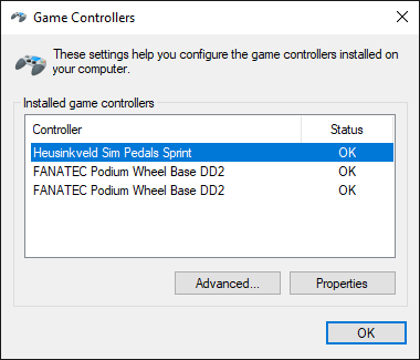 fanatec wheel properties