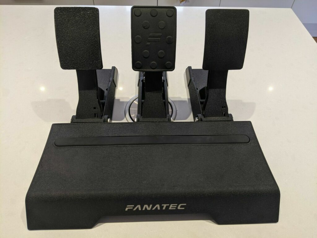 My Fanatec Clubsport pedals