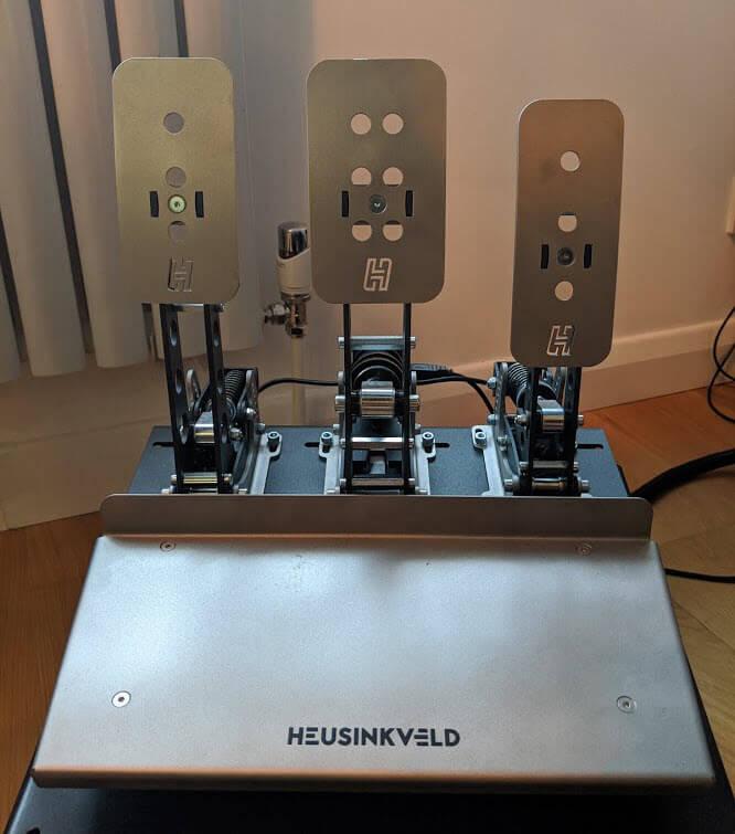 My Heuskinveld Sprint pedals