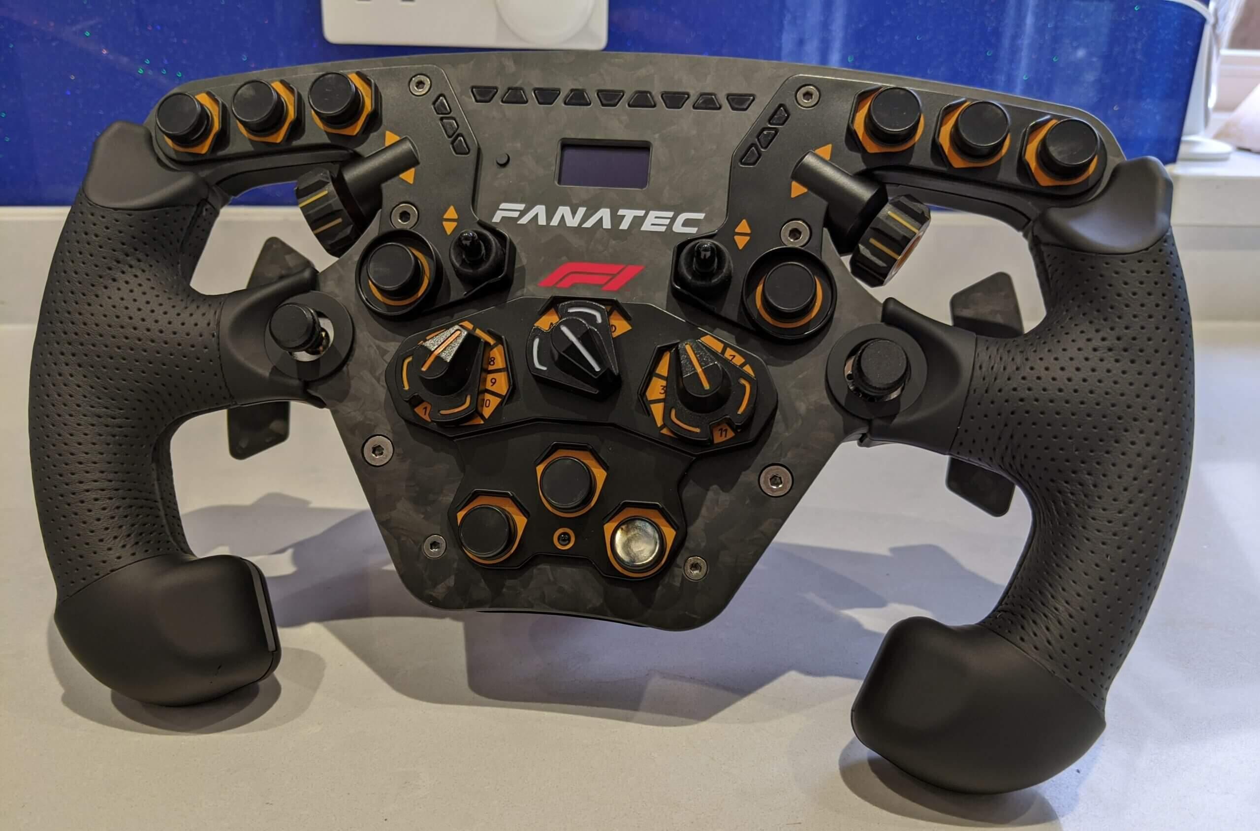 Fanatec LTD Edition F1 wheel