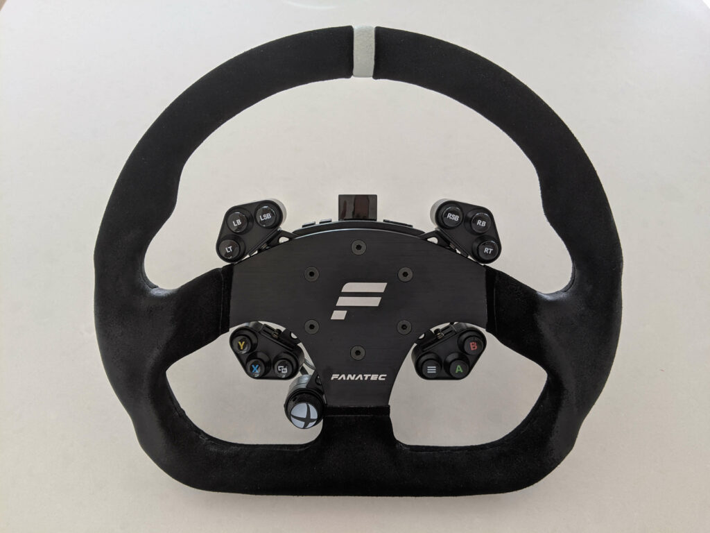 Clubsport steering wheel on xbox universal hub ready to upgrade