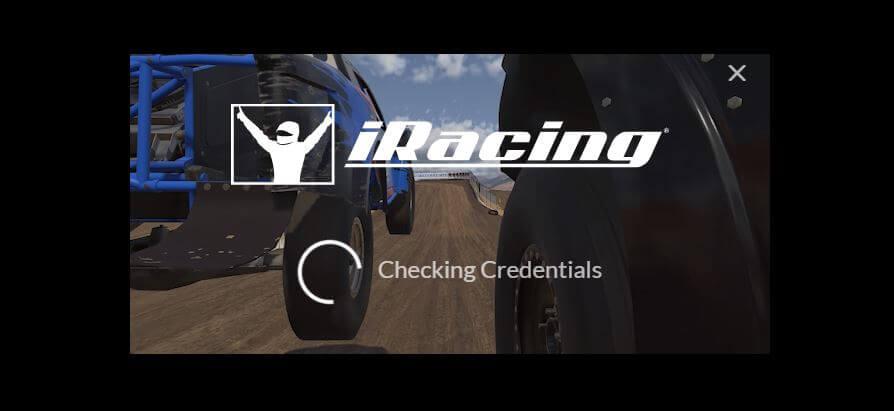 iRacing's loading screen