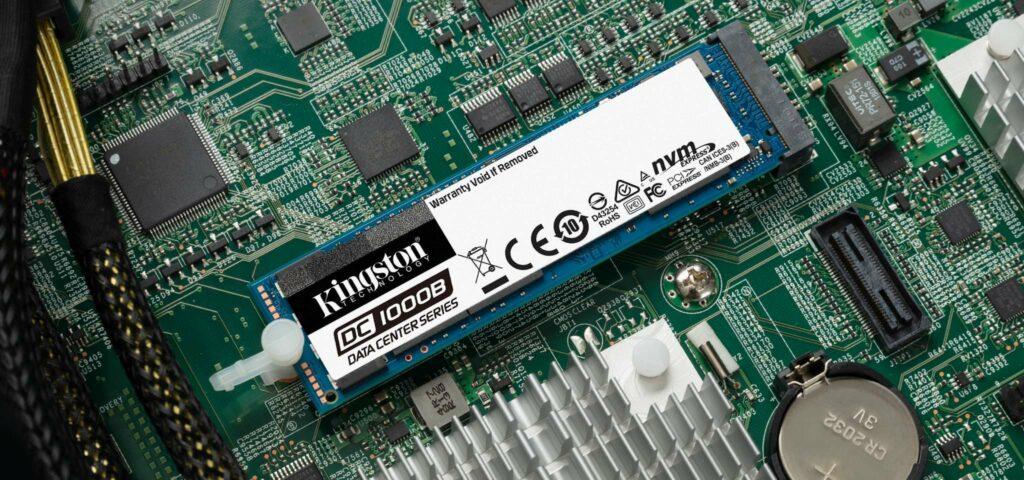 An NVMe SSD