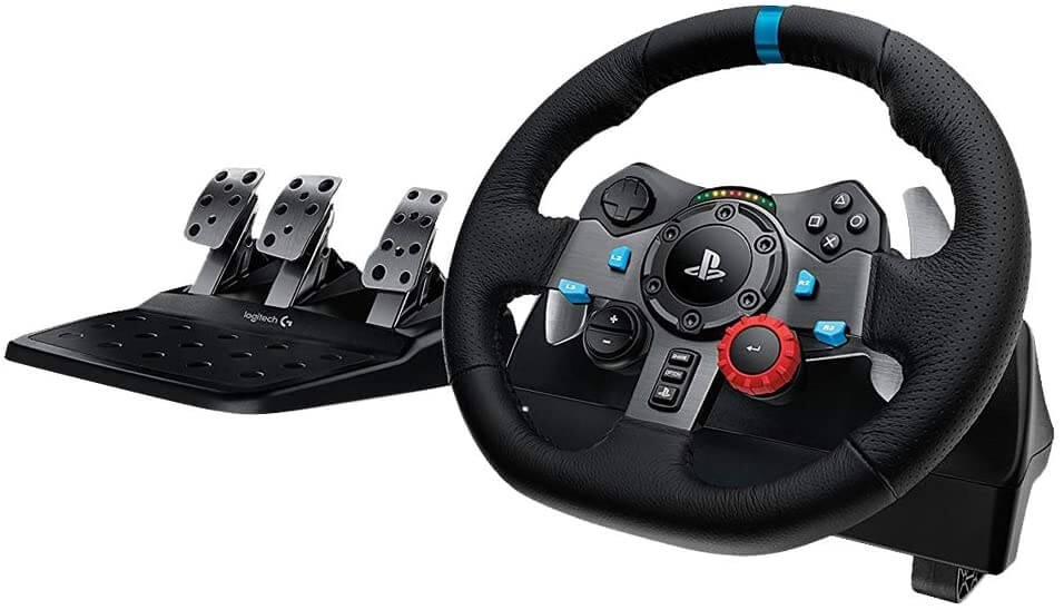 Logitech's G29 wheel and pedals for PC