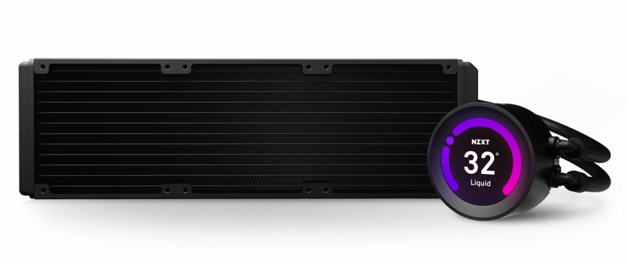 Top of the range cooling: NZXT 360mm AIO Liquid Cooler