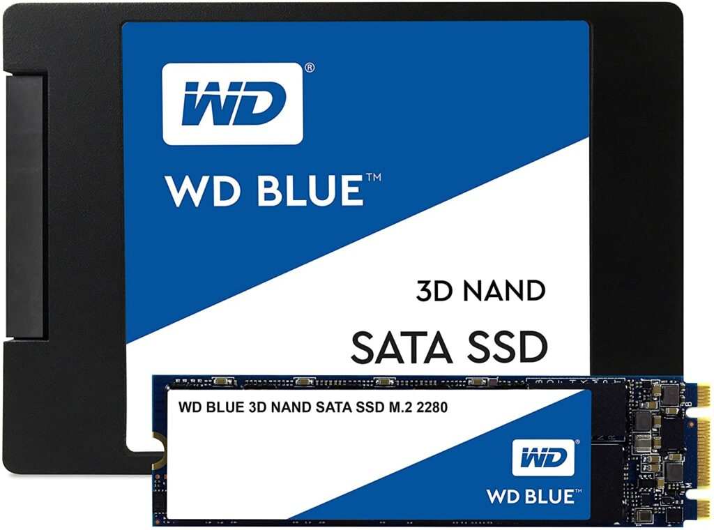 Western Digital's Blue 500GB M.2SSD