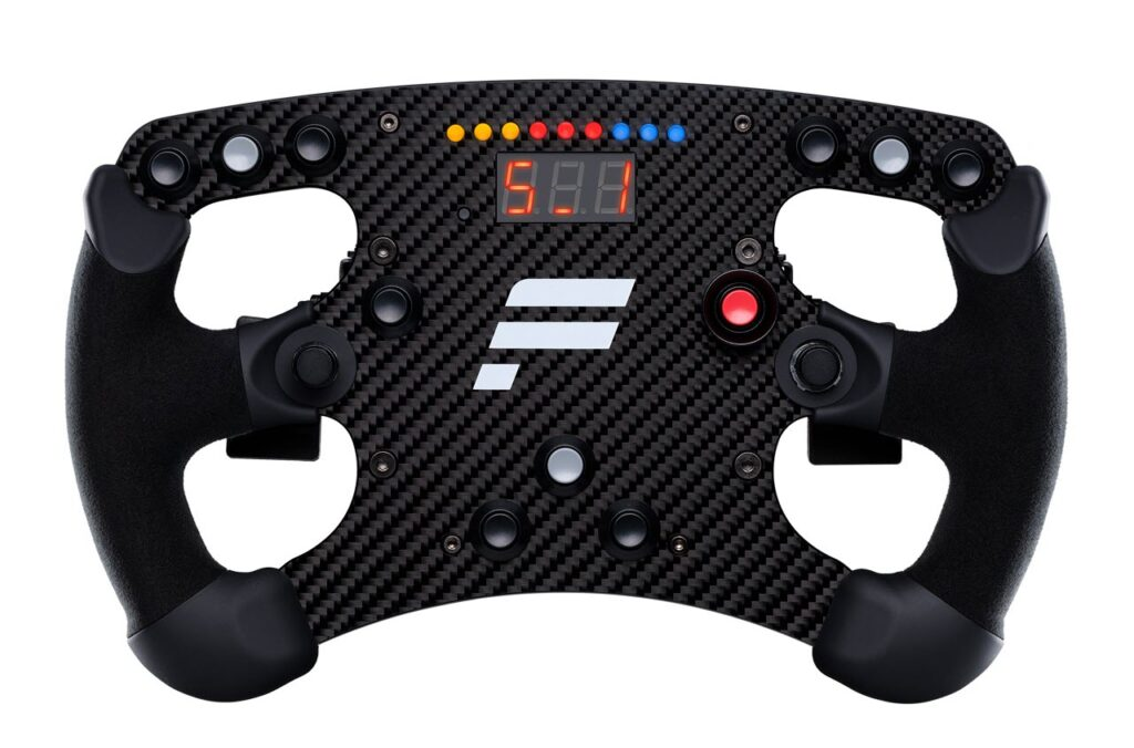 Fanatec's Clubsport Formula Carbon Wheel