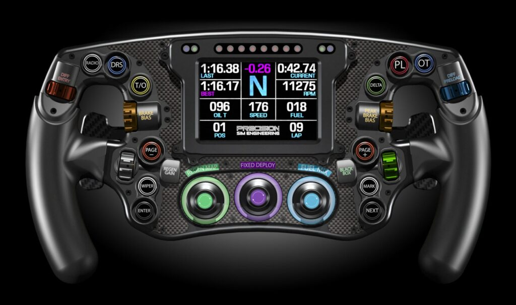 GPX Steering Wheel from Precision Sim Engineering