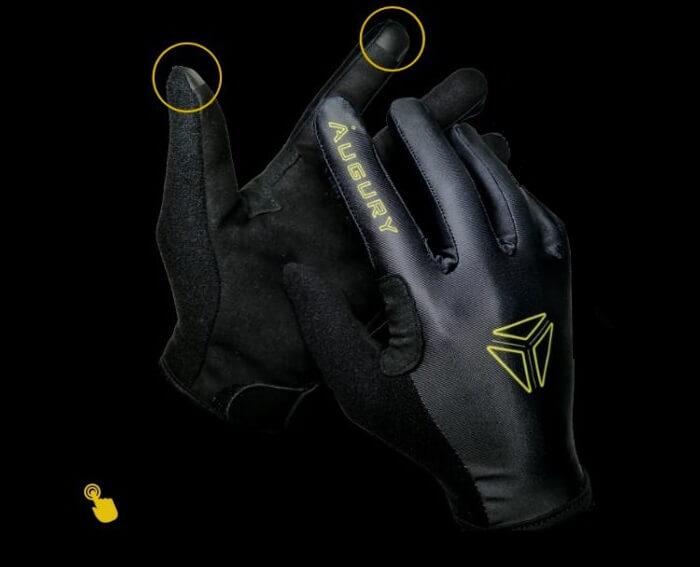 Augury sim racing gloves