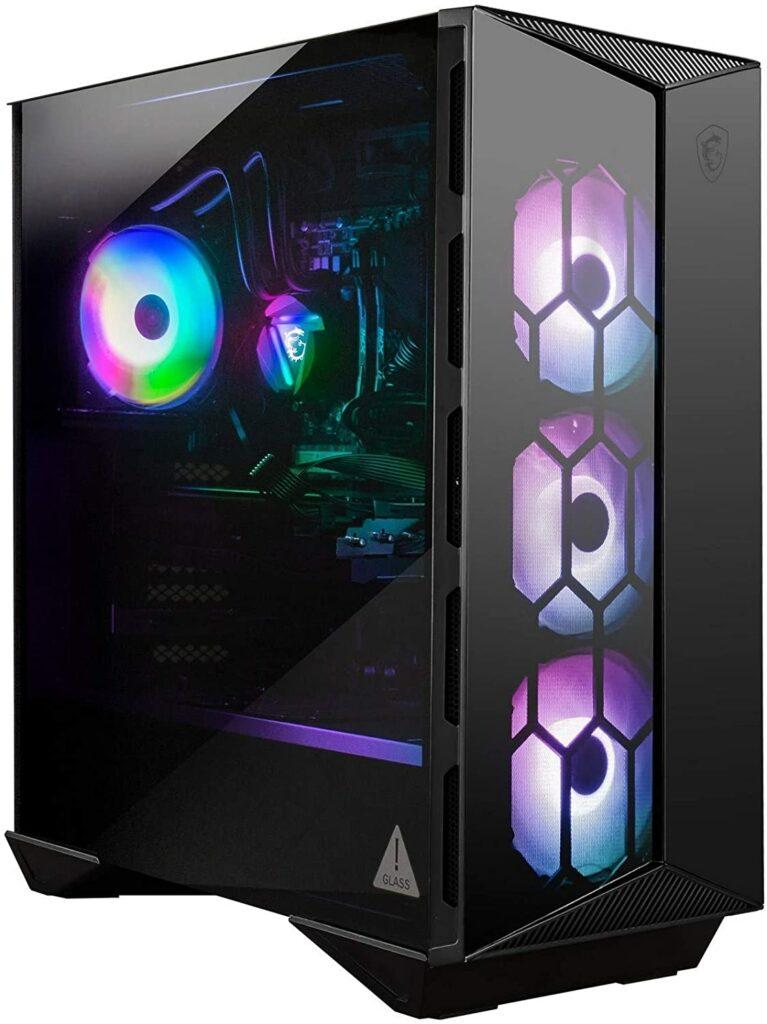MSI's Aegis desktop gaming PC with the RTX 3080 GPU