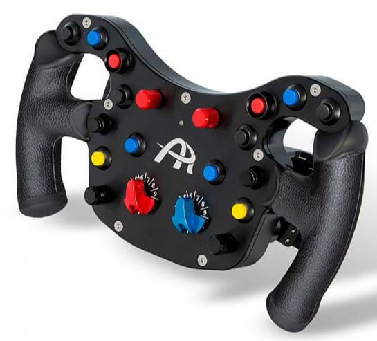 Ascher Racing F64-USB sim steering wheel
