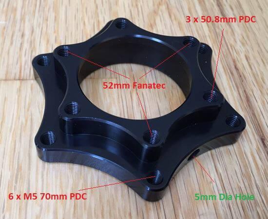 Fanatec QR adapter