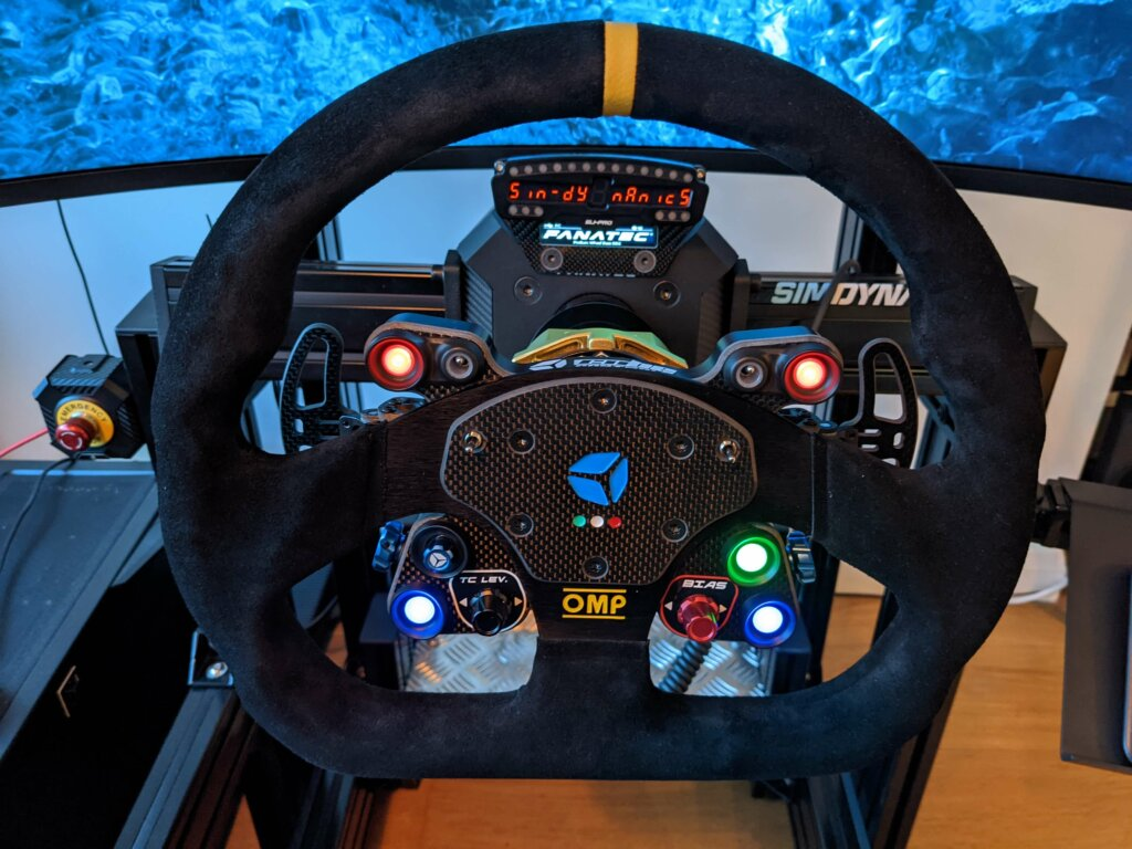 OMP Pro GT wheel from Cube Controls