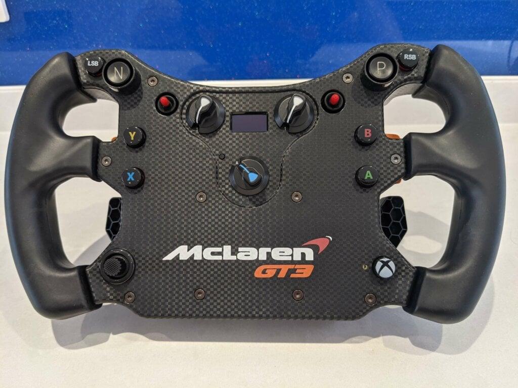 Fanatec Mclaren GT3 v2 Sim Steering Wheel