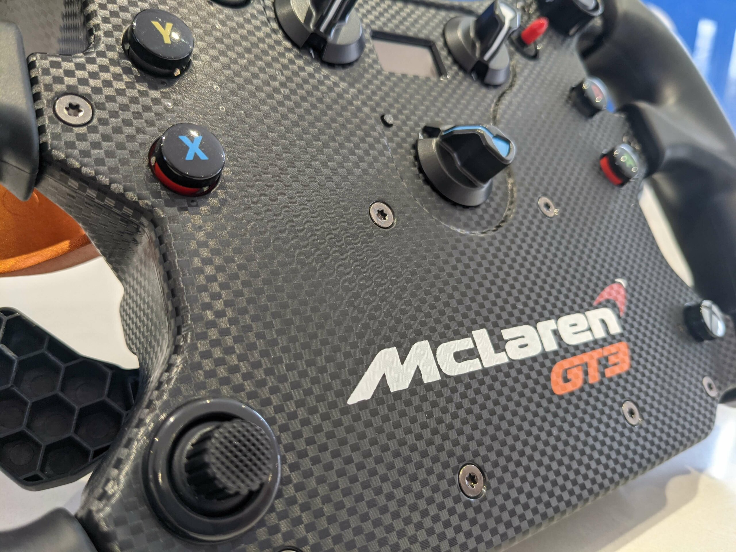 Test Drive: Fanatec Mclaren GT3 v2 Wheel Review