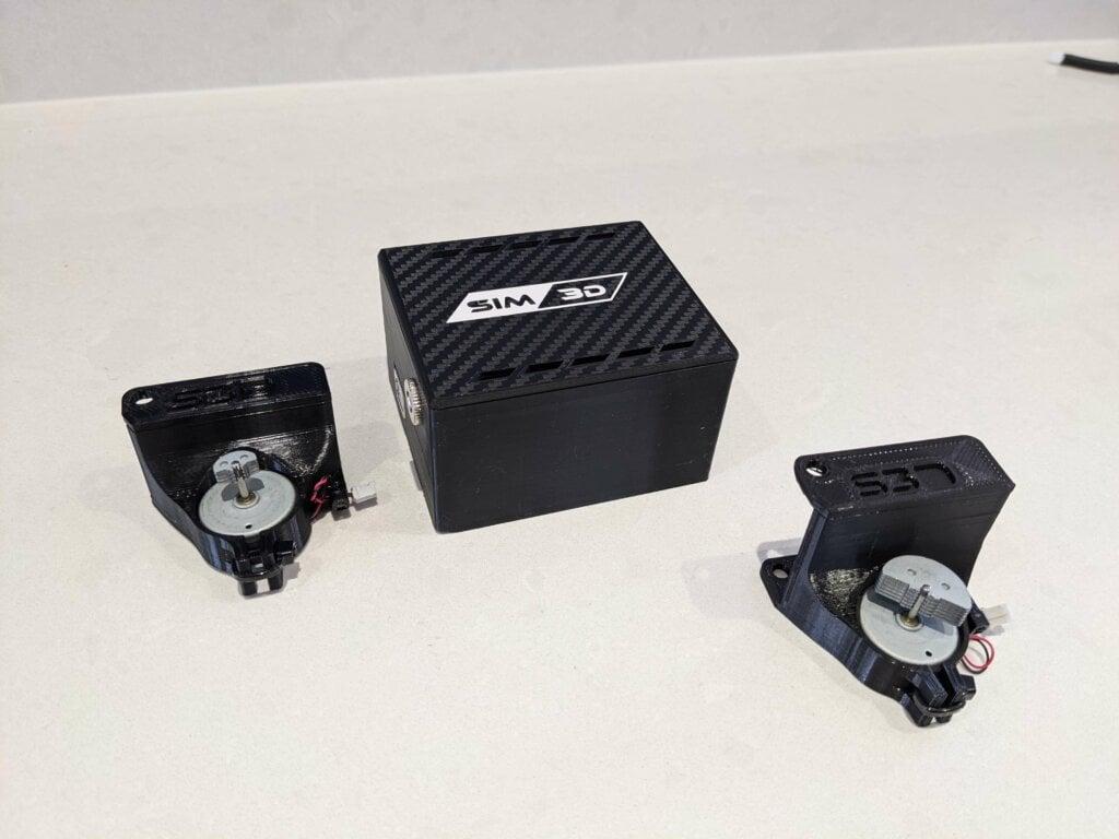 Sim 3D Pedal Rumble Motor Kit