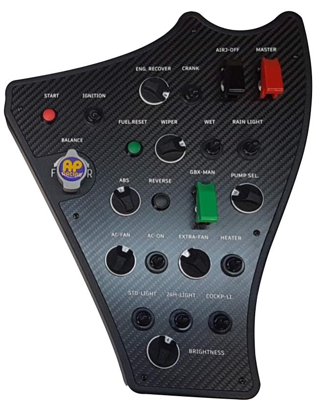 Grid Engineering F488 Dash Button Box