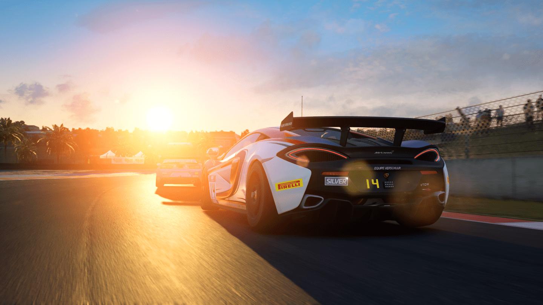 Mclaren in Assetto Corsa Competizione