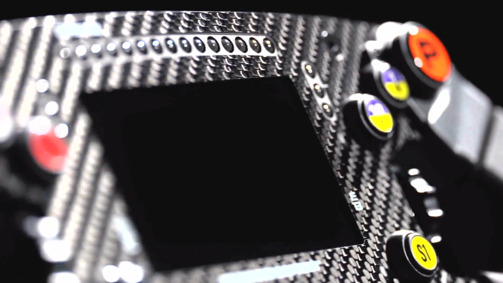 SF1000 Screen with close up of carbon detail