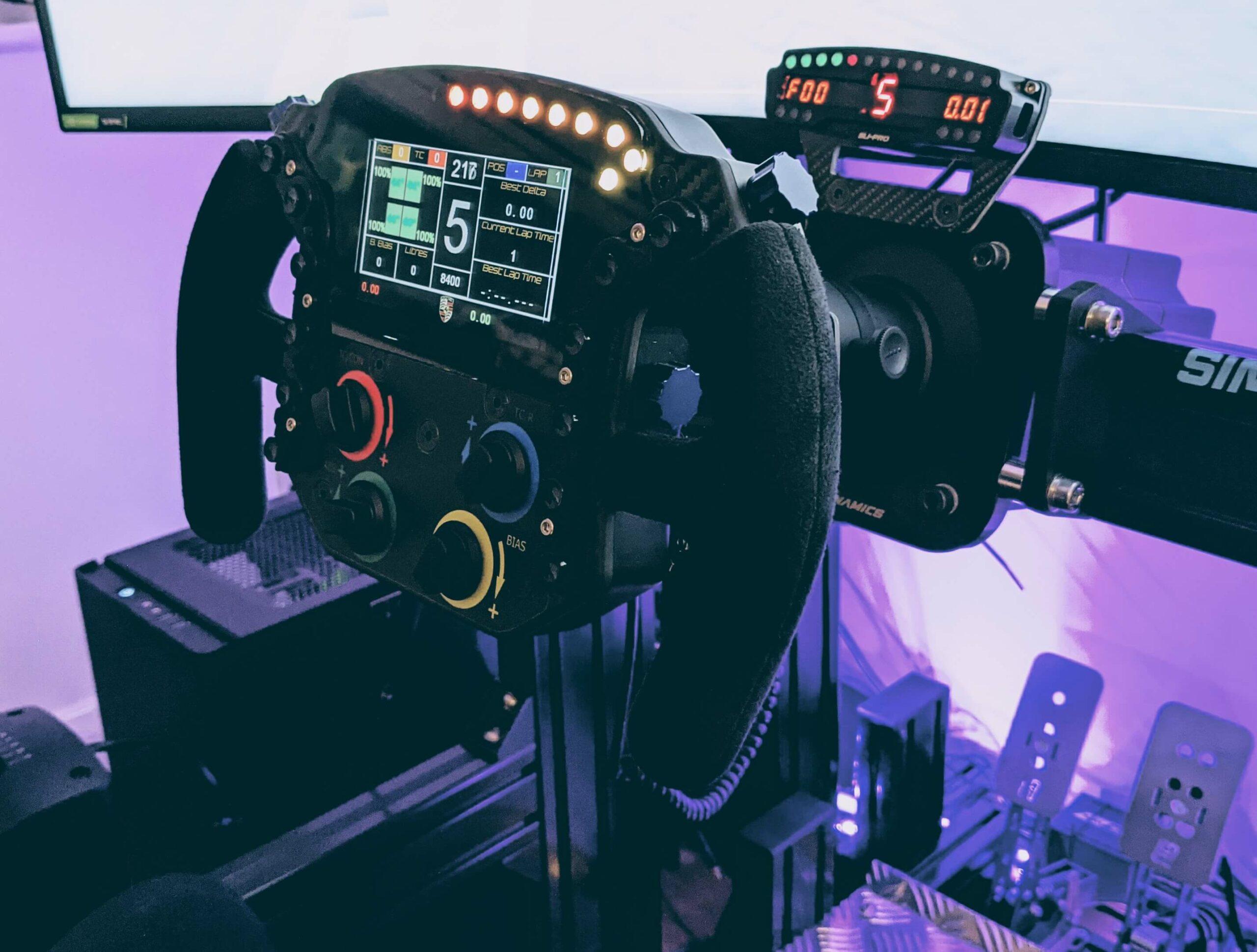 Custom Sim Racing Wheels: 911 RSR GTE Endurance from VPG