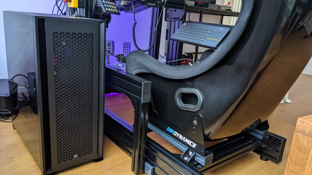 Our new ultimate Sim Racing PC build