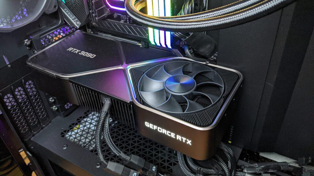 I love you, NVIDIA 3090 RTX