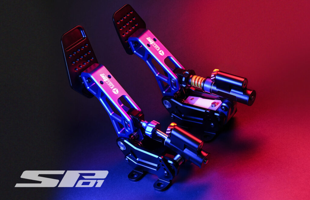 SP10 pedals from Cube Controls